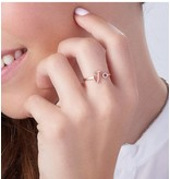 juwelierL Call with two birthstones 'love' - Copy - Copy - Copy - Copy - Copy