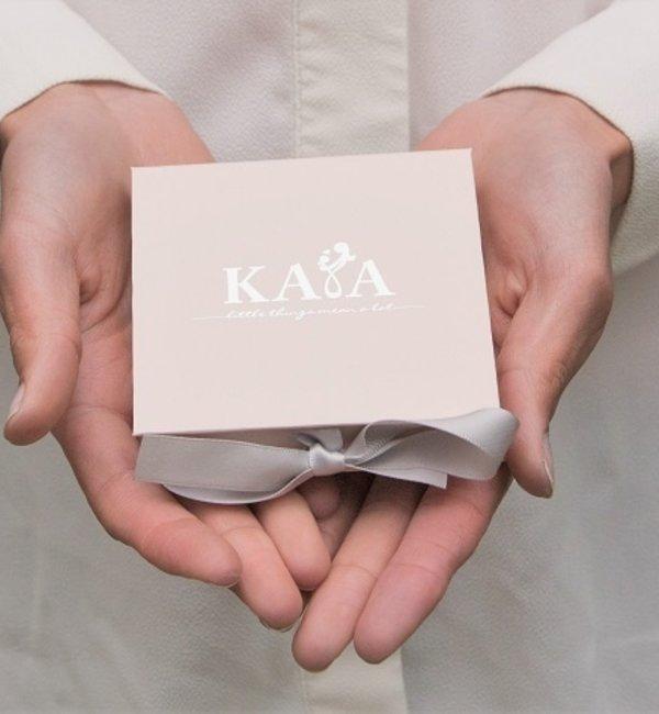KAYA sieraden Zilveren Ketting 'Munt' met Vlinder