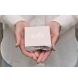 KAYA sieraden Zilveren Letterketting 'Schuinhangend'
