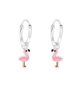 KAYA sieraden Creolen 'Flamingo'