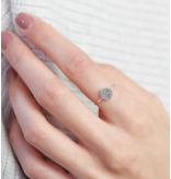 juwelierL Vingerafdruk ring 'Disc'