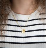 "KAYA Silver Necklace ""Imagine yourself together '- with graveerbedel option - Copy"