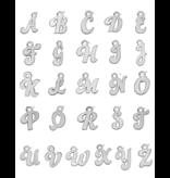 KAYA Zilveren Letterketting 'Initials'