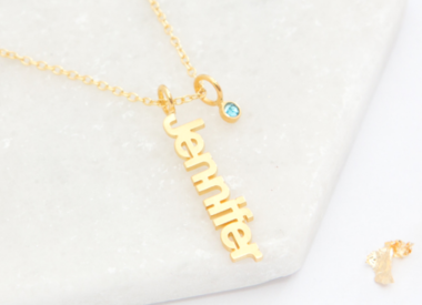 Necklaces with name