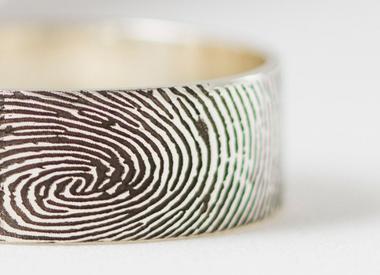 With fingerprint