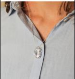 KAYA Zilveren ketting 'We are Family'  ouders & 4 kids