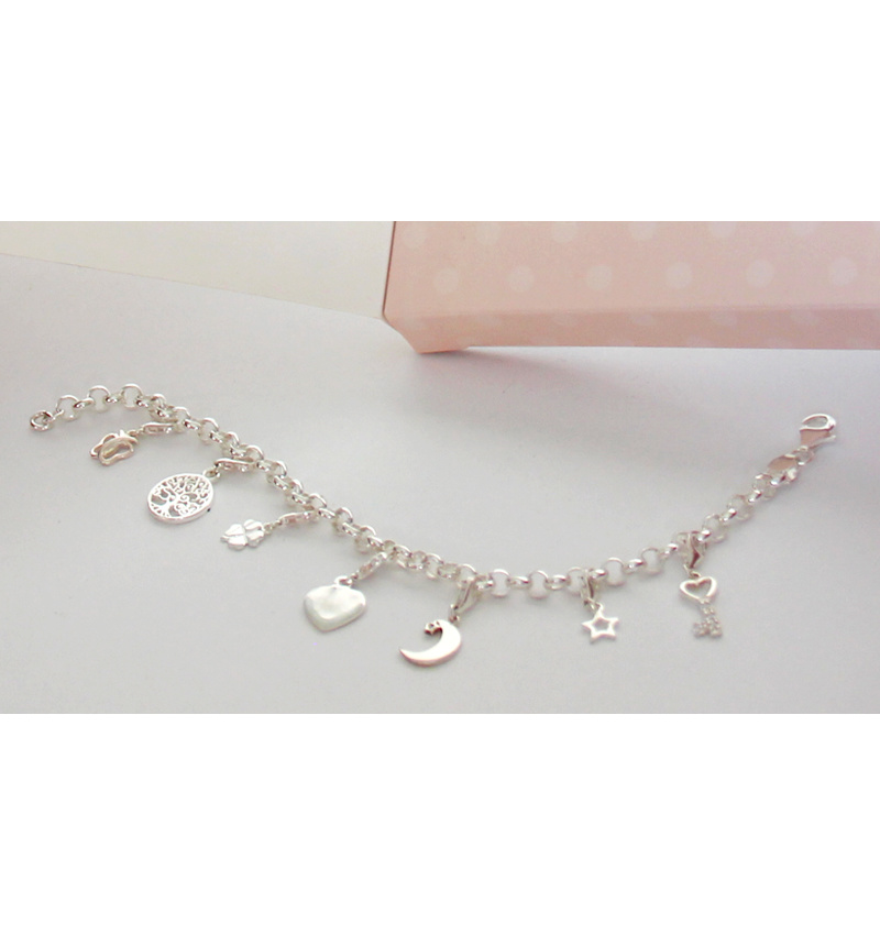 KAYA sieraden Silver Chain Bracelet ★ ★ additional personal - Copy