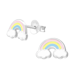 KAYA sieraden Kinderoorbellen 'Rainbow'