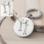KAYA sieraden Stainless Steel Sleutelhanger 'Tekening'