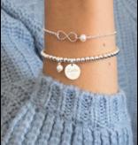 KAYA sieraden Cute Balls Armband 'Handwritten' met Eigen Handschrift