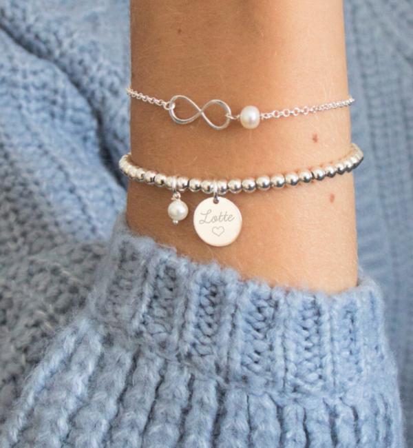 KAYA sieraden Zilveren Armband 'Speechless'