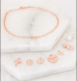 KAYA sieraden Bedelarmband 'Fijne Jasseron' - Stel zelf samen
