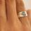 Gegraveerde sieraden Zilveren Ringen Set 'Vingerafdrukken'