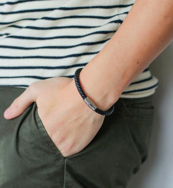 Sieraden graveren Personalized bracelet - stainless steel - Copy - Copy - Copy - Copy - Copy