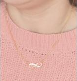 Sieraden graveren Zilveren Ketting 'Infinity' met Gravure