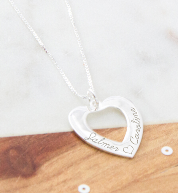 KAYA sieraden Silver Necklace 'Forever by my Side' with Pearl
