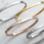KAYA sieraden Slavenarmband Zilver 'vriendinnetjes voor het leven ♡'