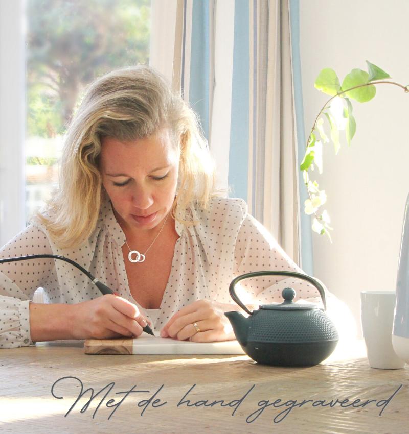 KAYA sieraden Zilveren Armband 'Cute Balls' met Gravure