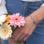 KAYA sieraden Bracelet 'Cute Balls' Engrave Heart & Pearl & Heart - Copy
