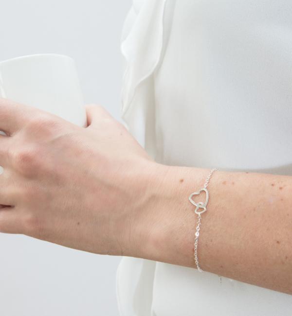 KAYA sieraden Armband 'Connected' Kies je materiaal