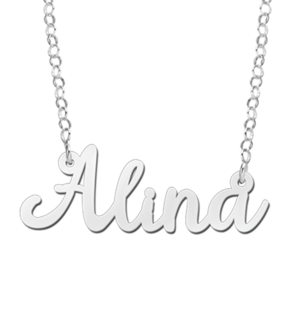 Sieraden Name Necklace 'Claudia' in the name of your choice - Copy