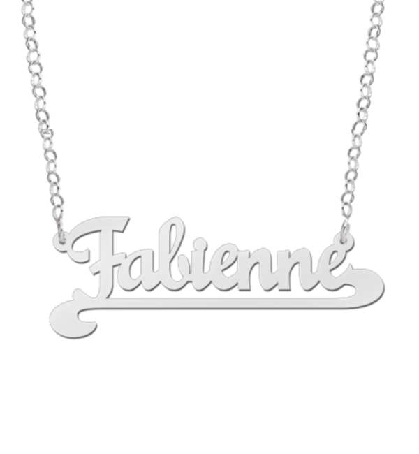 Sieraden Name necklace 'Names' Fabienne