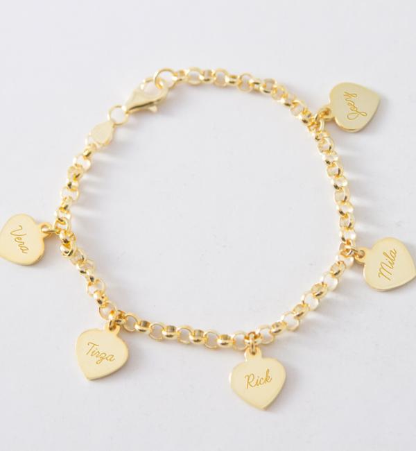 KAYA sieraden Silver Chain Bracelet ★ ★ additional personal - Copy