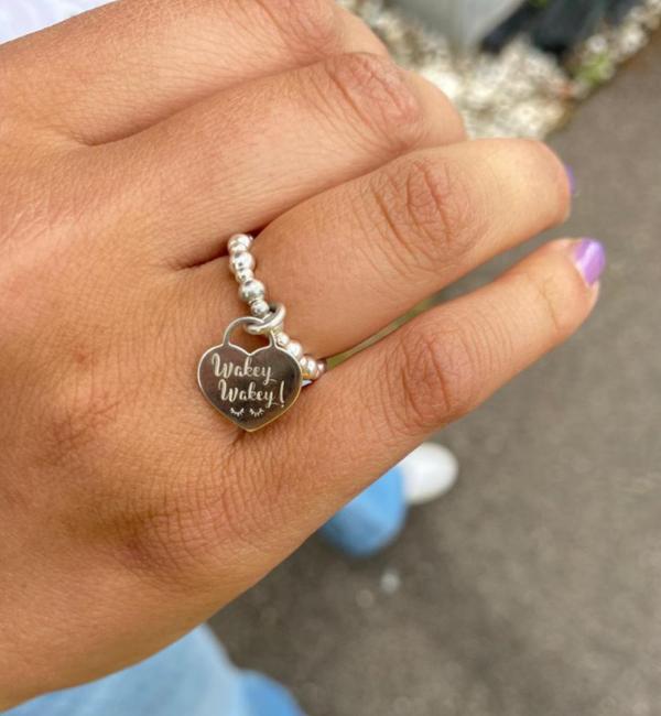 KAYA sieraden Zilveren Quote Ring Quote 'Bali'