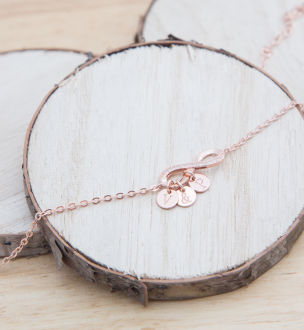 KAYA sieraden Silver Chain Bracelet ★ ★ additional personal - Copy - Copy - Copy - Copy - Copy