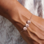 Sieraden graveren Bracelet with own handwriting - Copy - Copy - Copy - Copy - Copy