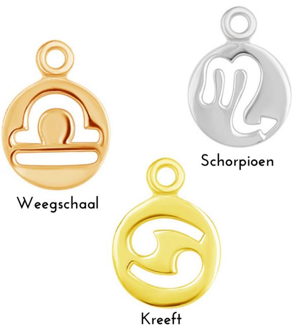KAYA sieraden Sterrenbeeld  Bedeltje - Kies je kleur