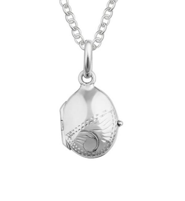 KAYA sieraden Zilveren Ketting  met Medaillon 'Vintage'