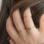 KAYA sieraden Ring 'Mini Disc' met Letter