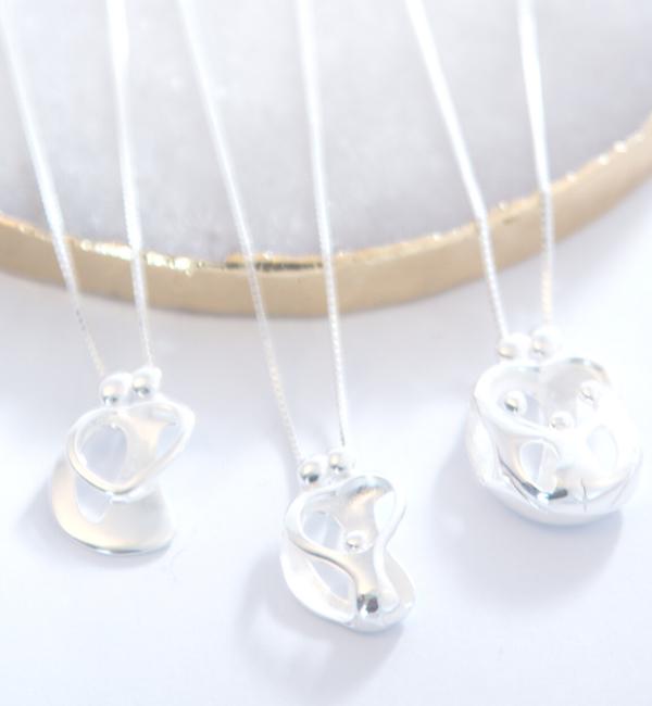 KAYA sieraden Zilveren Ketting 'We Are Family' - Ouders & 4 Kids