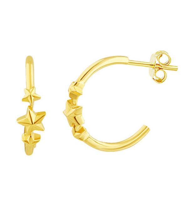 KAYA sieraden Silver earrings kids 'Feathers' - Copy - Copy - Copy - Copy