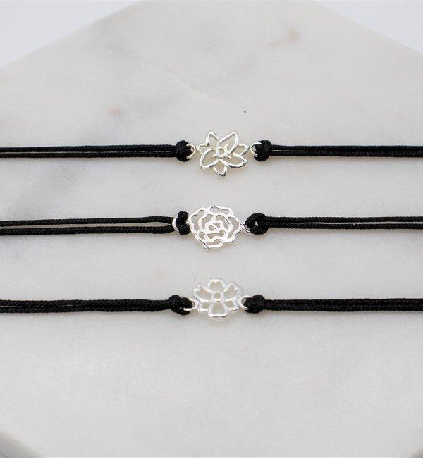 KAYA sieraden Zilveren Geboortebloem Armband
