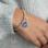 KAYA sieraden Zilveren Geloof bedelarmband 'Cute Balls'