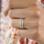 KAYA sieraden Gepersonaliseerde Zilveren Ring 'Elegant Beauty' met Namen