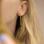 KAYA sieraden Silver earrings kids 'Feathers' - Copy - Copy - Copy - Copy - Copy - Copy