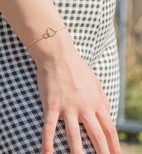 KAYA sieraden Gift Box Silver Mom & Me bracelets 'Connected'