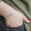 KAYA sieraden Silver armbandenset 'Infinity & Pearl'