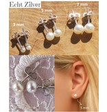 KAYA Zilveren communie armbandje 'Little Diva' met crystal kruisje