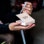 KAYA sieraden Letterketting 'Disc' met Initalen