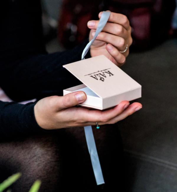 KAYA sieraden Letterketting 'Shapes' met Initiaal