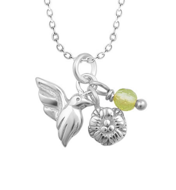 KAYA sieraden Zilveren Ketting 'Flying Bird'