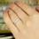 KAYA sieraden Zilveren Ring 'Flowers'