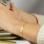 KAYA sieraden Slavenarmband met Coördinaten | Kies de kleur