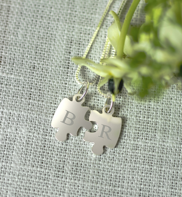 KAYA sieraden Set of two silver chains 'little piece of me' - Copy - Copy