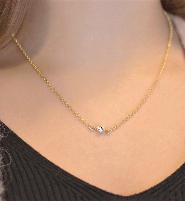 Gegraveerde sieraden Swarovski® Charm Birth Crystal - Copy - Copy