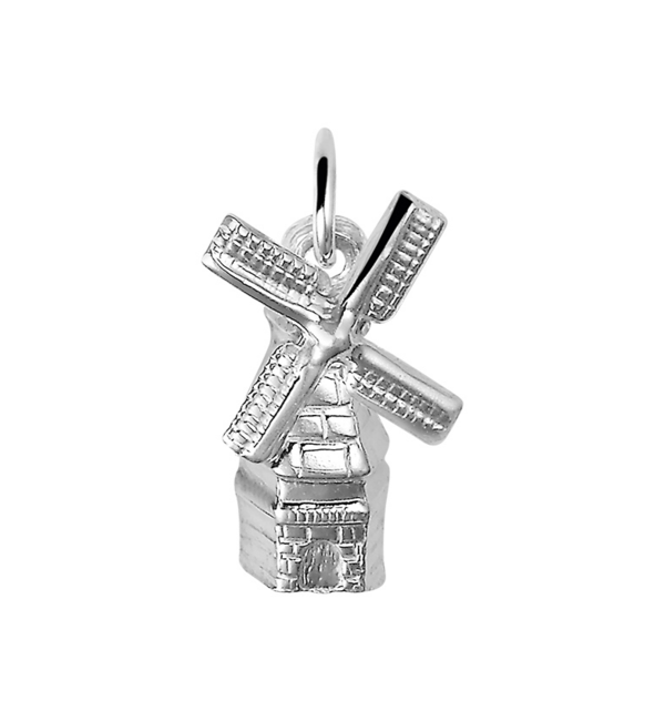 KAYA sieraden Zilveren ketting  'Molen'